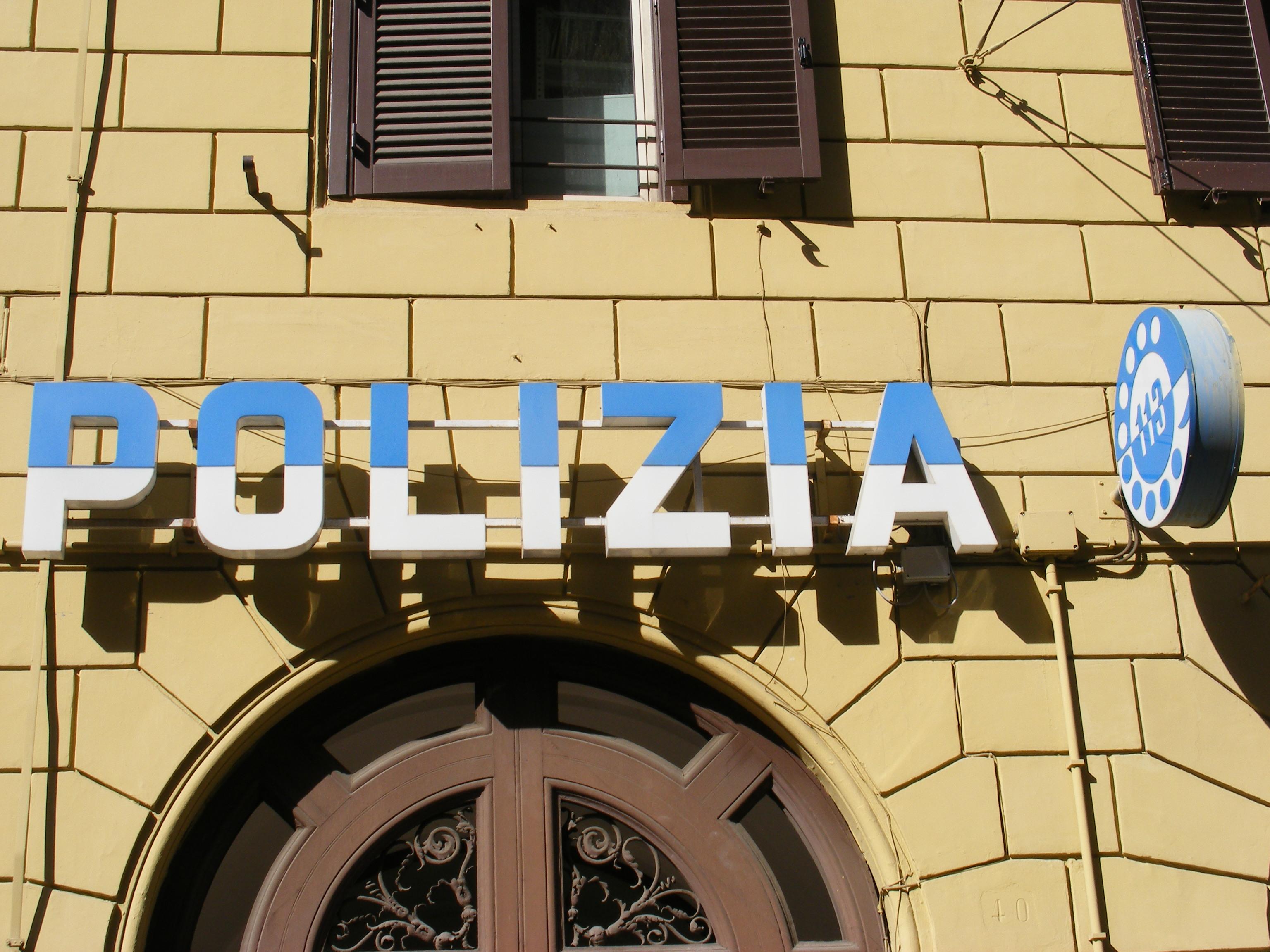 FilePolice station in Rome Italyjpg  Wikimedia Commons