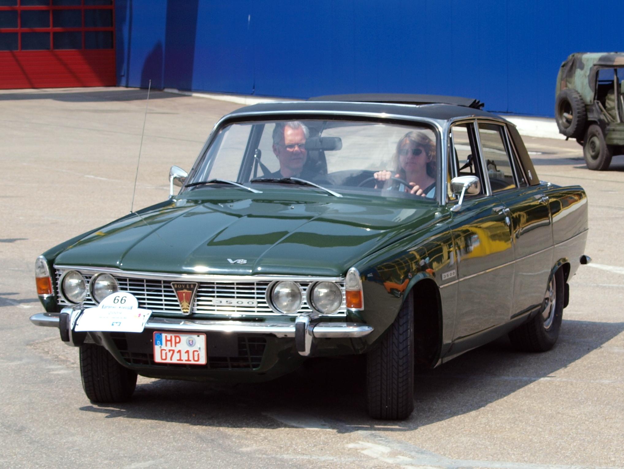 File Rover P6 3500 V8 1970 p2 JPG Wikimedia mons