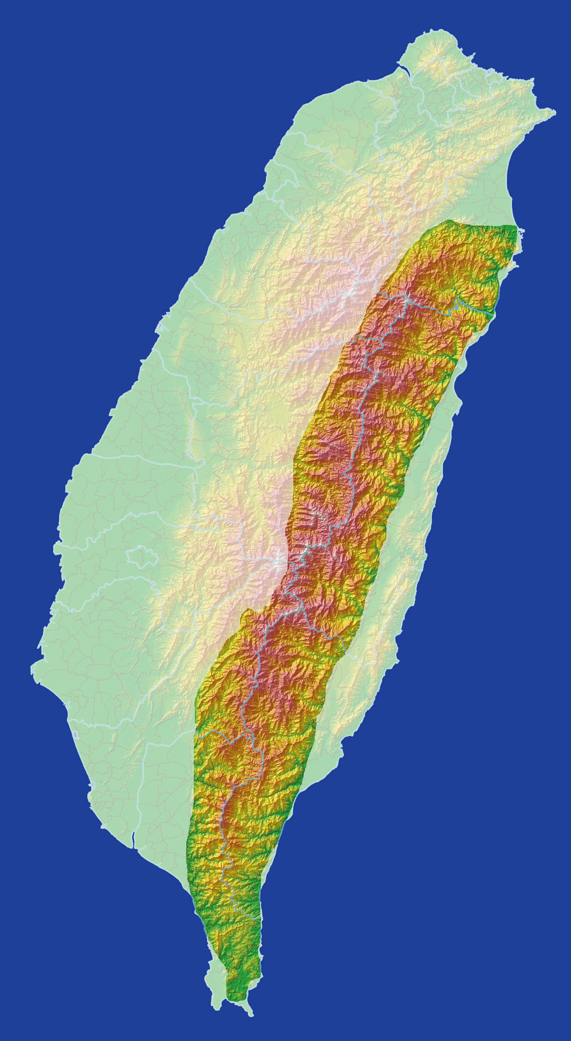 Central Mountain Range - Wikiwand