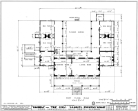 File:Umbria Plantation - Architectural plan of main floor ...