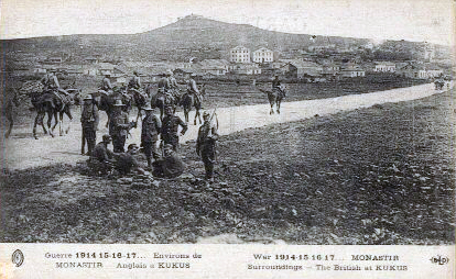 File:World War I - Saloniki Front - British Troops at Kilkis, Greece.jpg