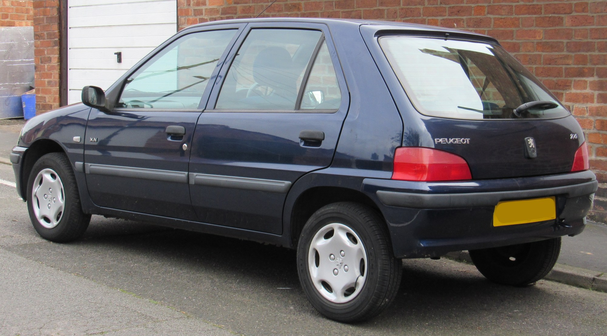 hight resolution of peugeot 106 phase ii