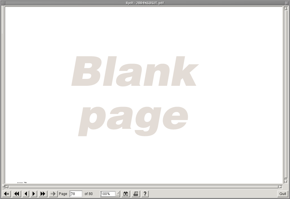 file aec blank page