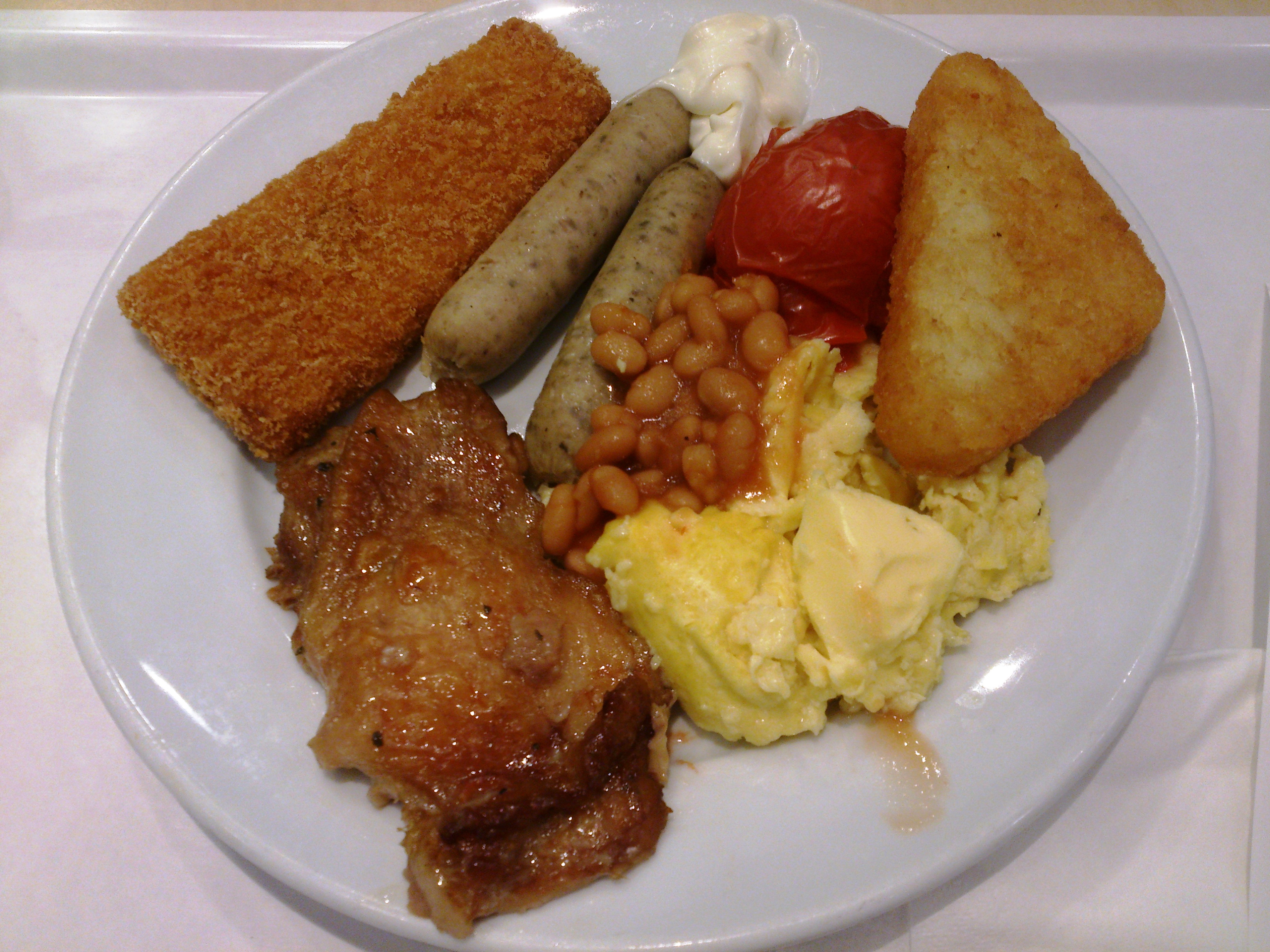 file full breakfast with