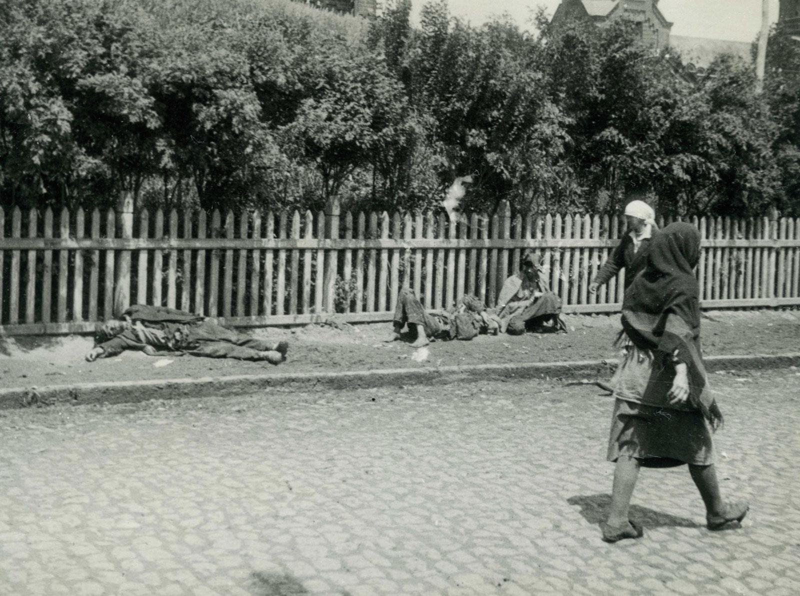 Les victimes de la famine. Kharkiv 1933