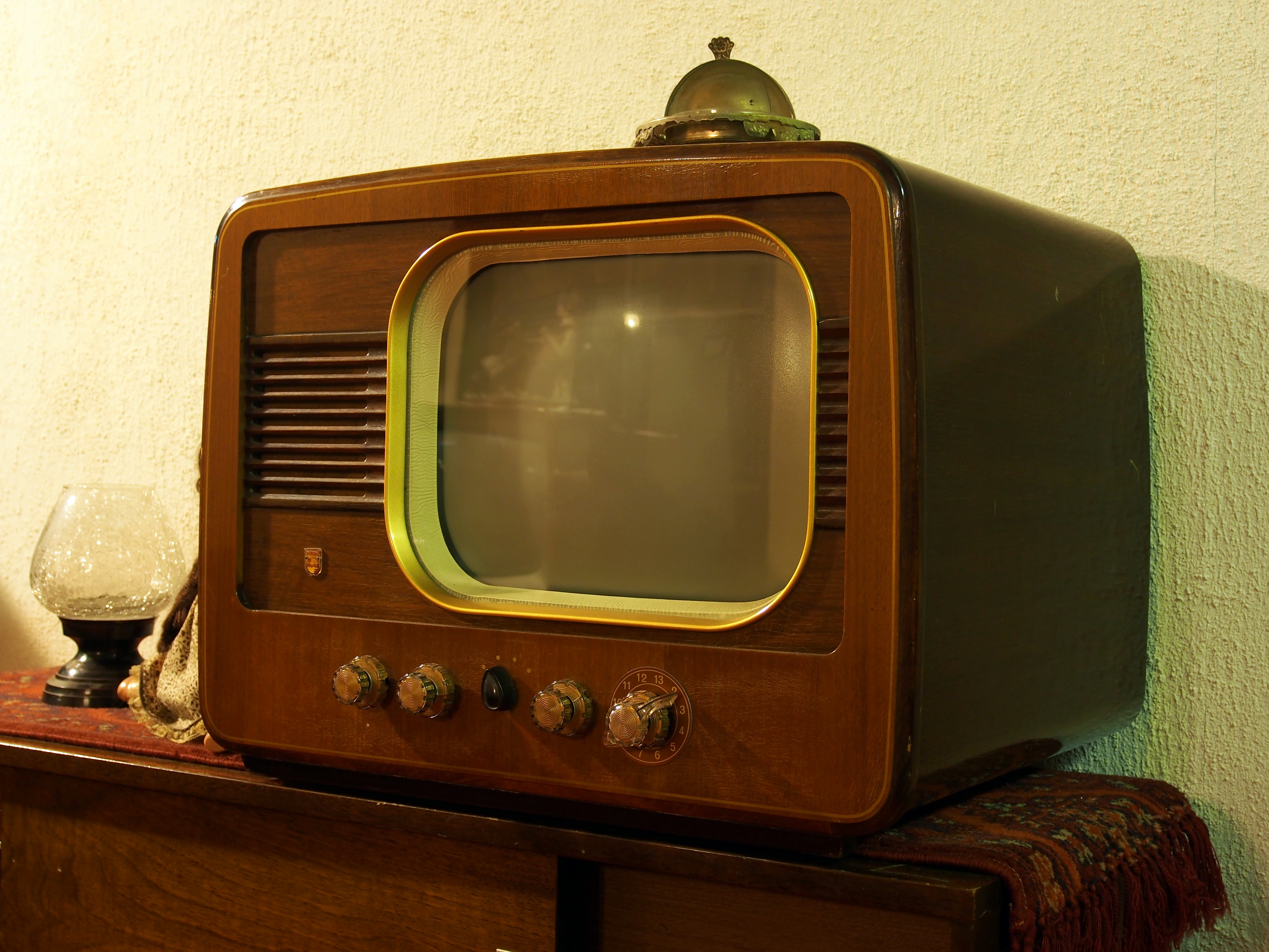 Fileold Philips Television Set, Pic6jpg  Wikimedia Commons