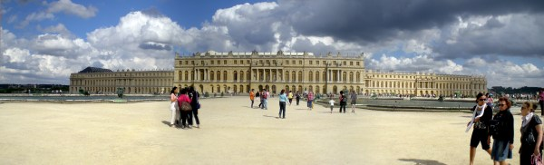Versailles Palace Panoramic View