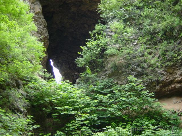 File:Zhoukoudian Caves July2004.jpg