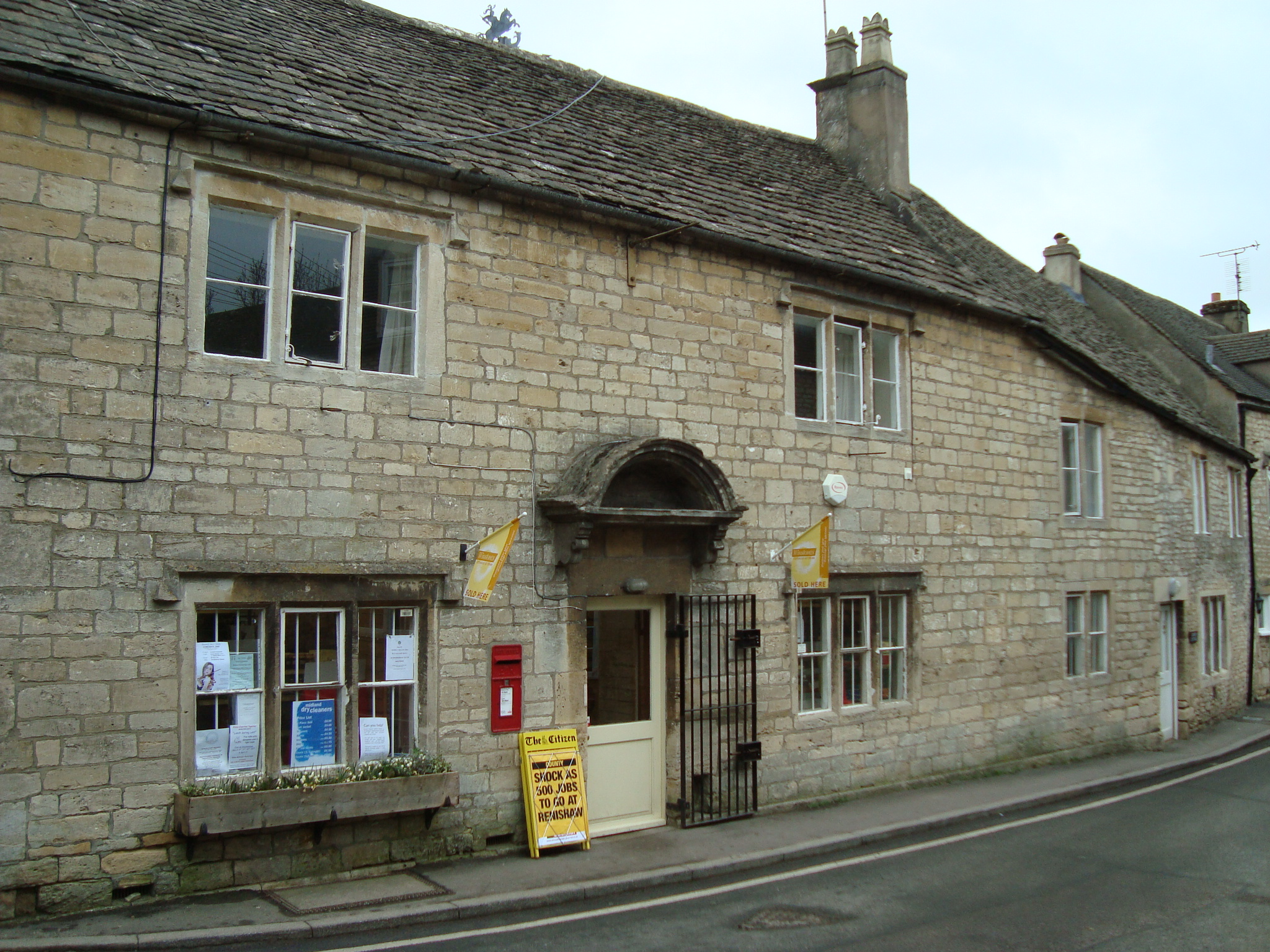 File: former post office in Bisley, Gloucestershire