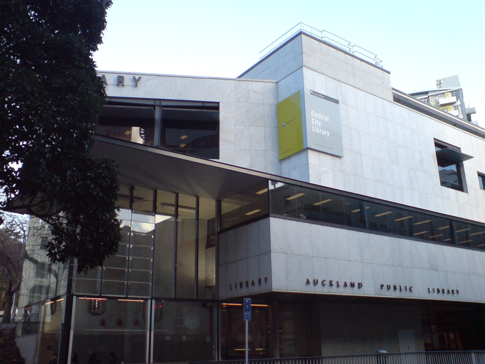 Central City Library, Auckland