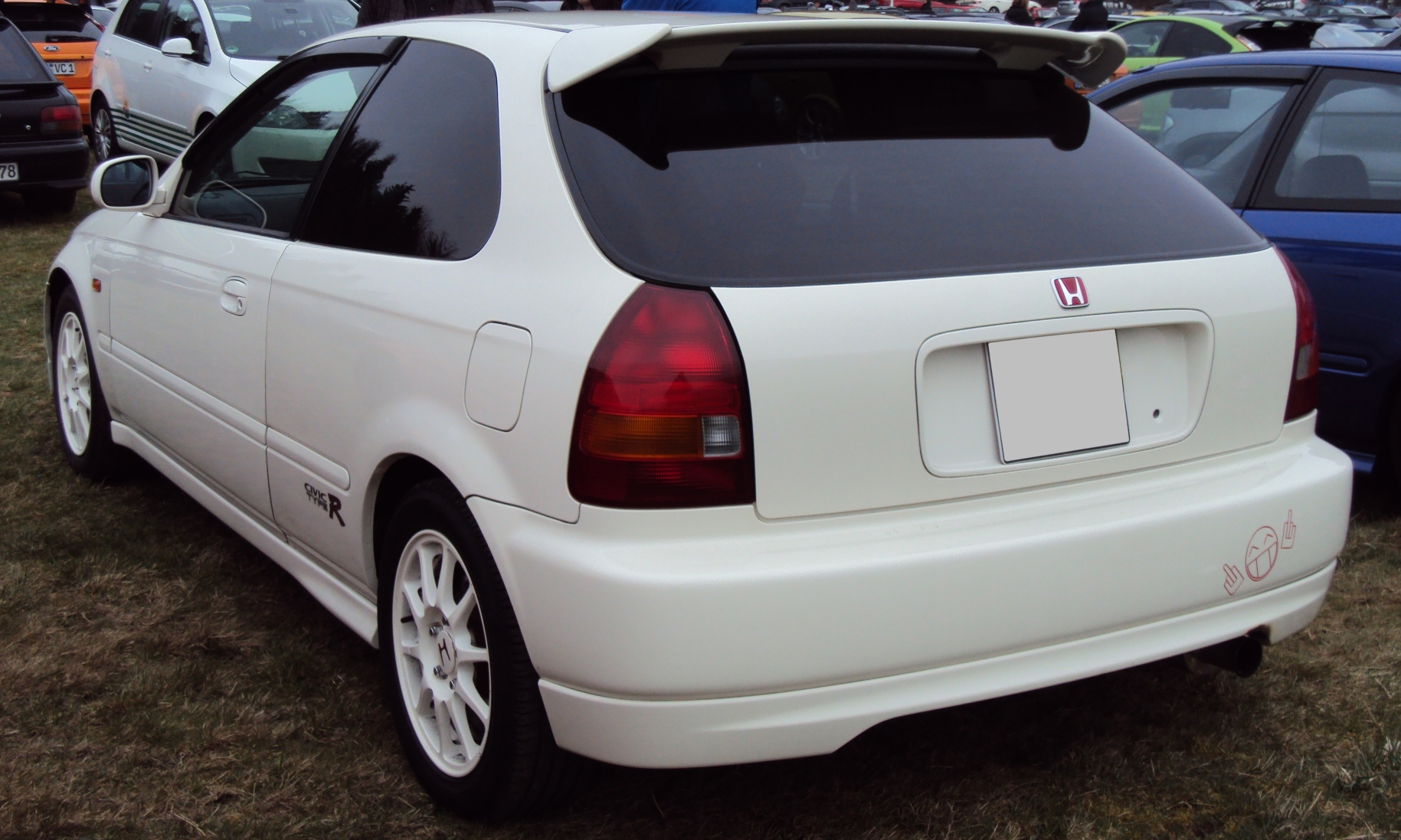 hight resolution of file civic type r rear jpg