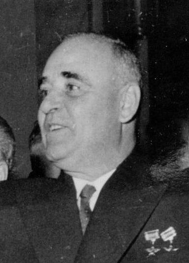 Gheorghe Gheorghiu-Dej (1901-1965) - Wikicommons