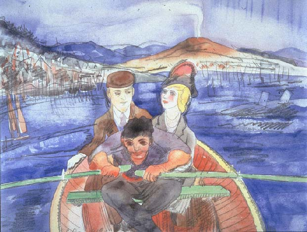 File:Demuth Charles The Boat Ride from Sorrento.jpg