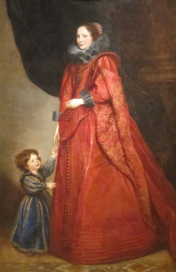 Van Dyck Portrait of a Woman and Child