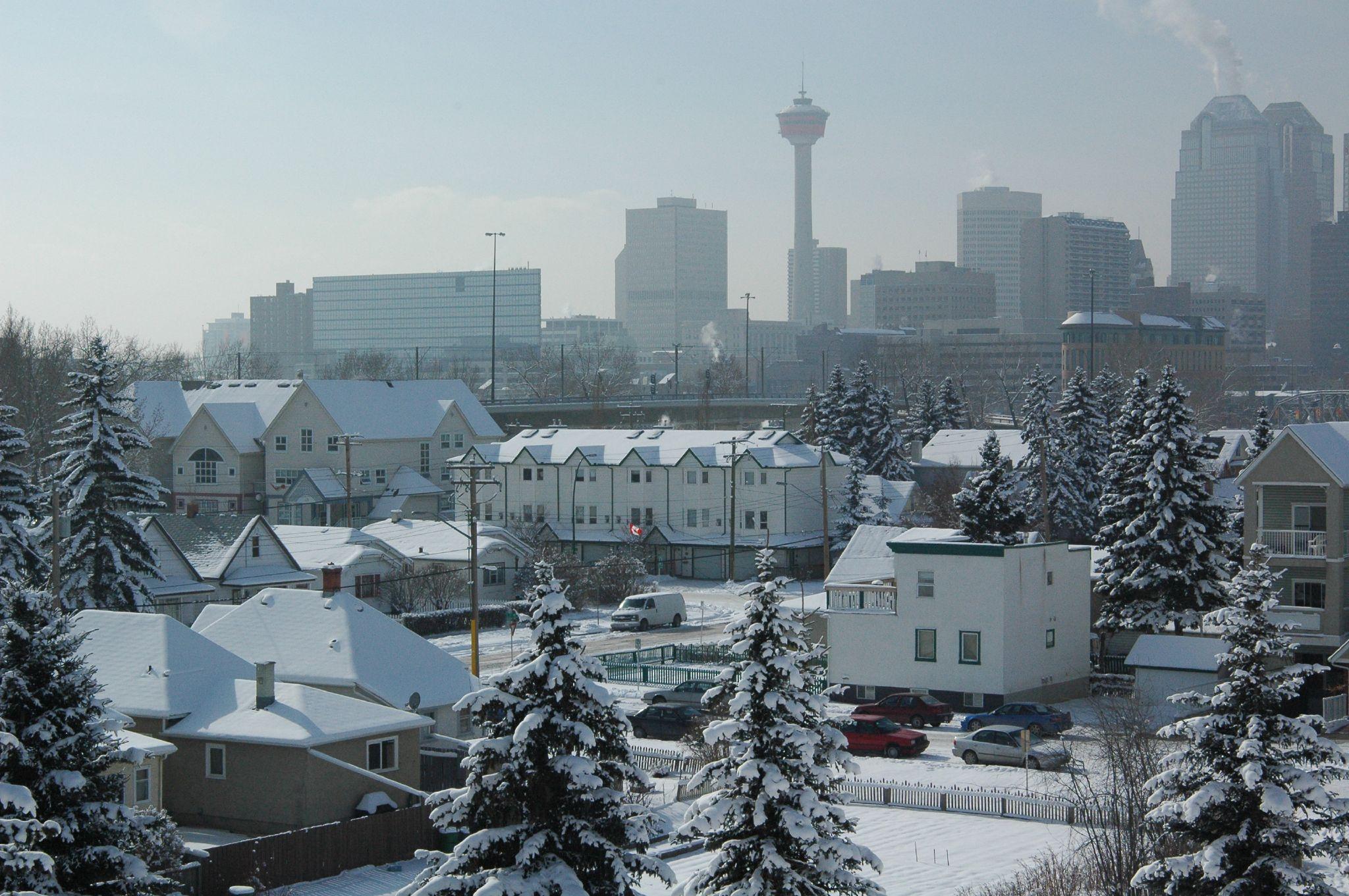 Enjoy CoOl COol Weather Of Calgary  CANADA