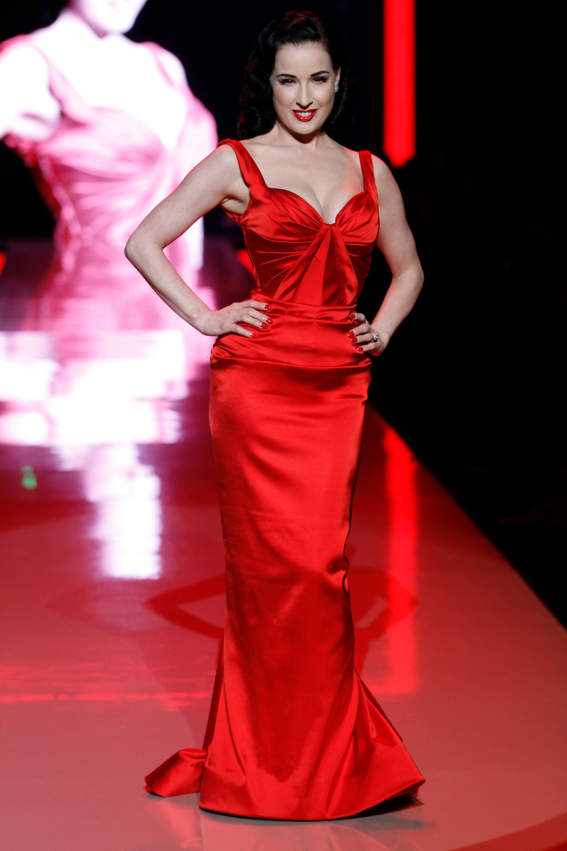 Dita Von Teese in Zac Posen 2 Its Fashion