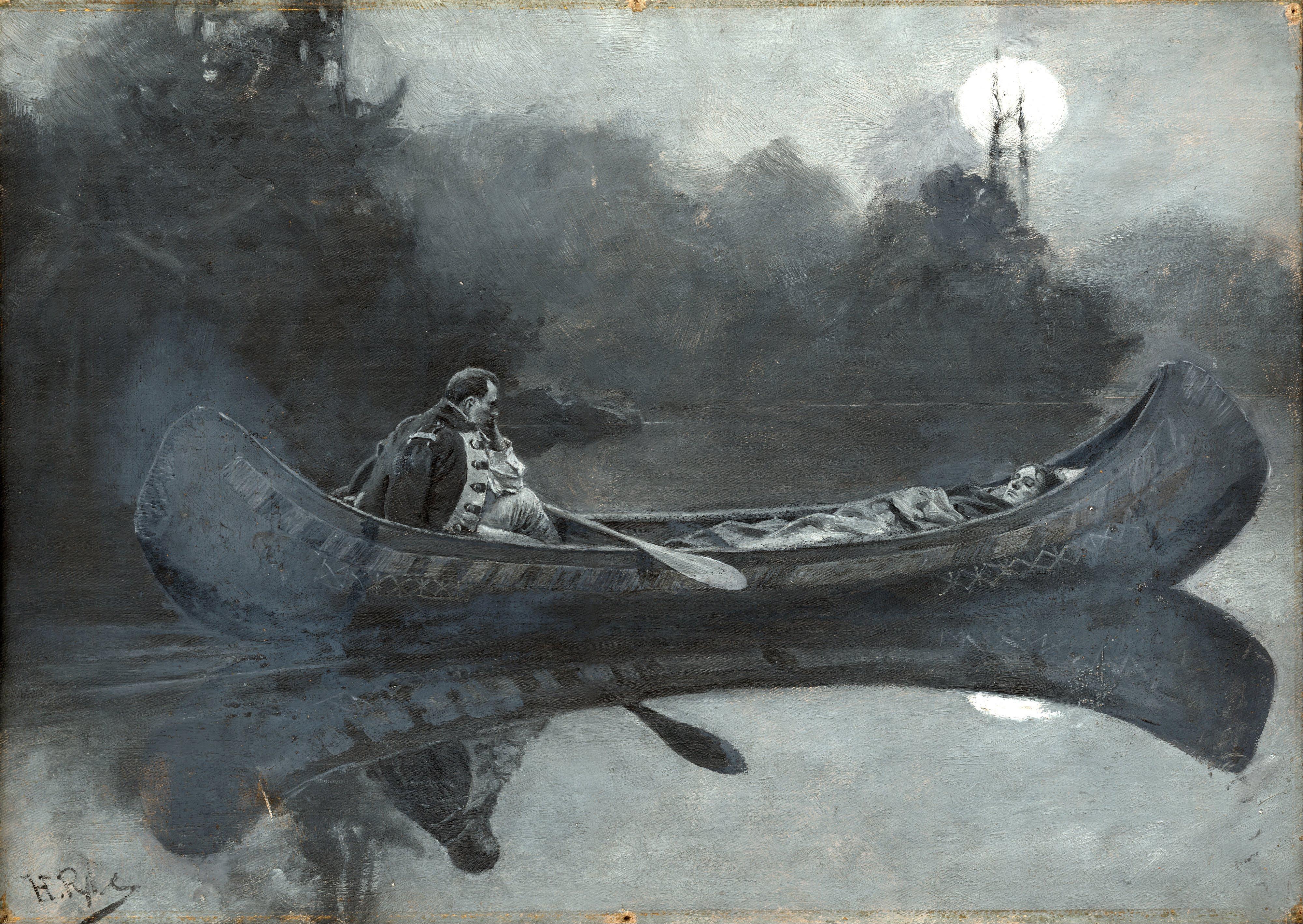 Pyle canoe