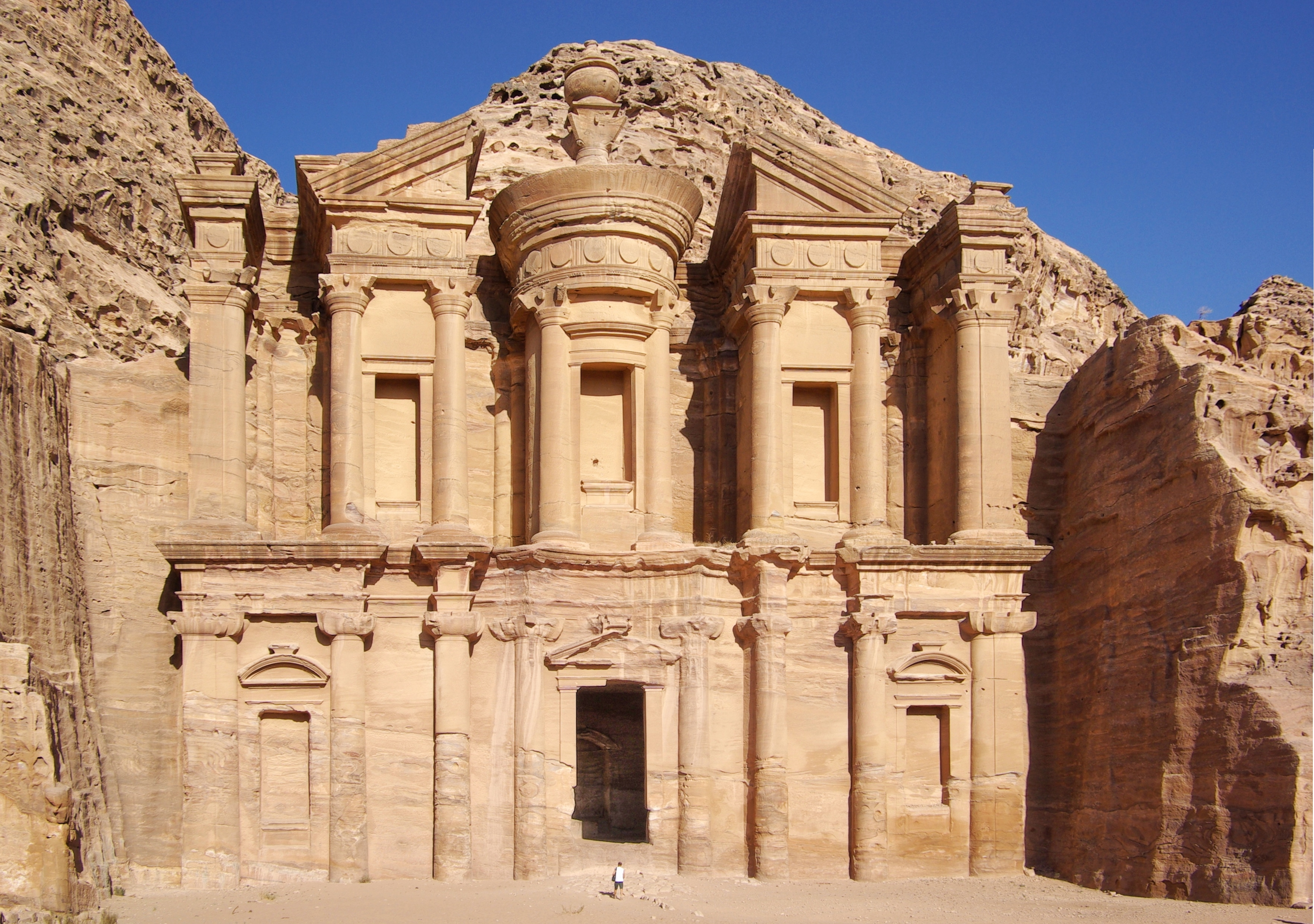 English: Petra, El Deir Deutsch: Petra, El Deir