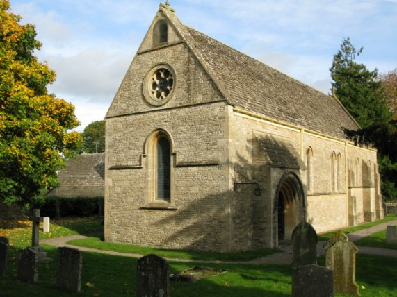 St James' parish church, Marston Meysey