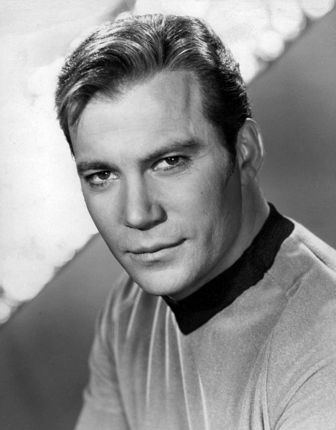 Publicity photo of William Shatner as Captain ...