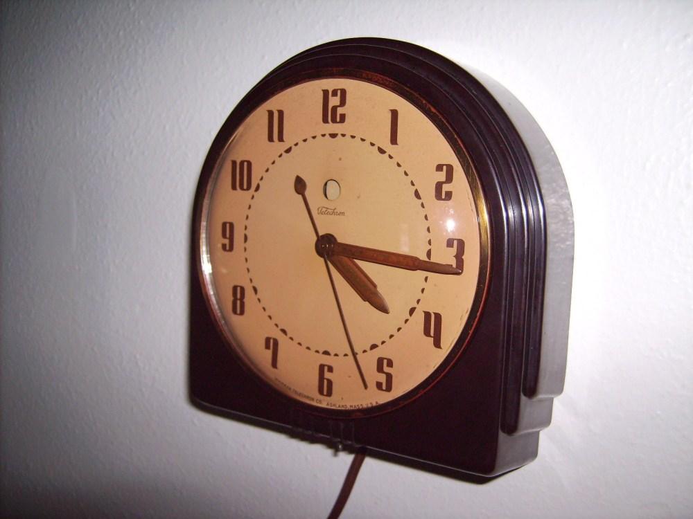 medium resolution of electric clock