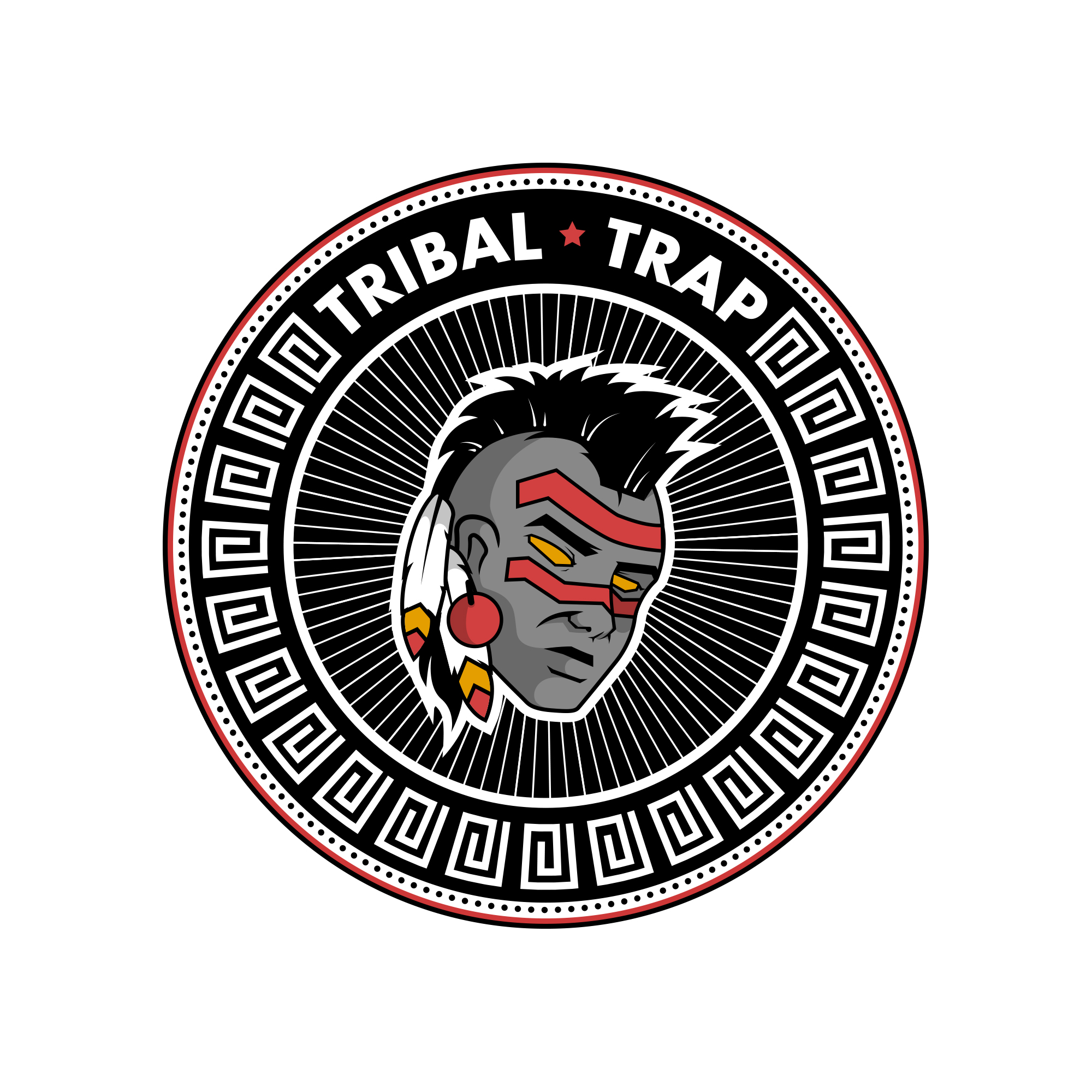 file tribal trap logo
