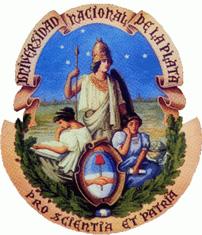 Seal of Universidad Nacional de La Plata