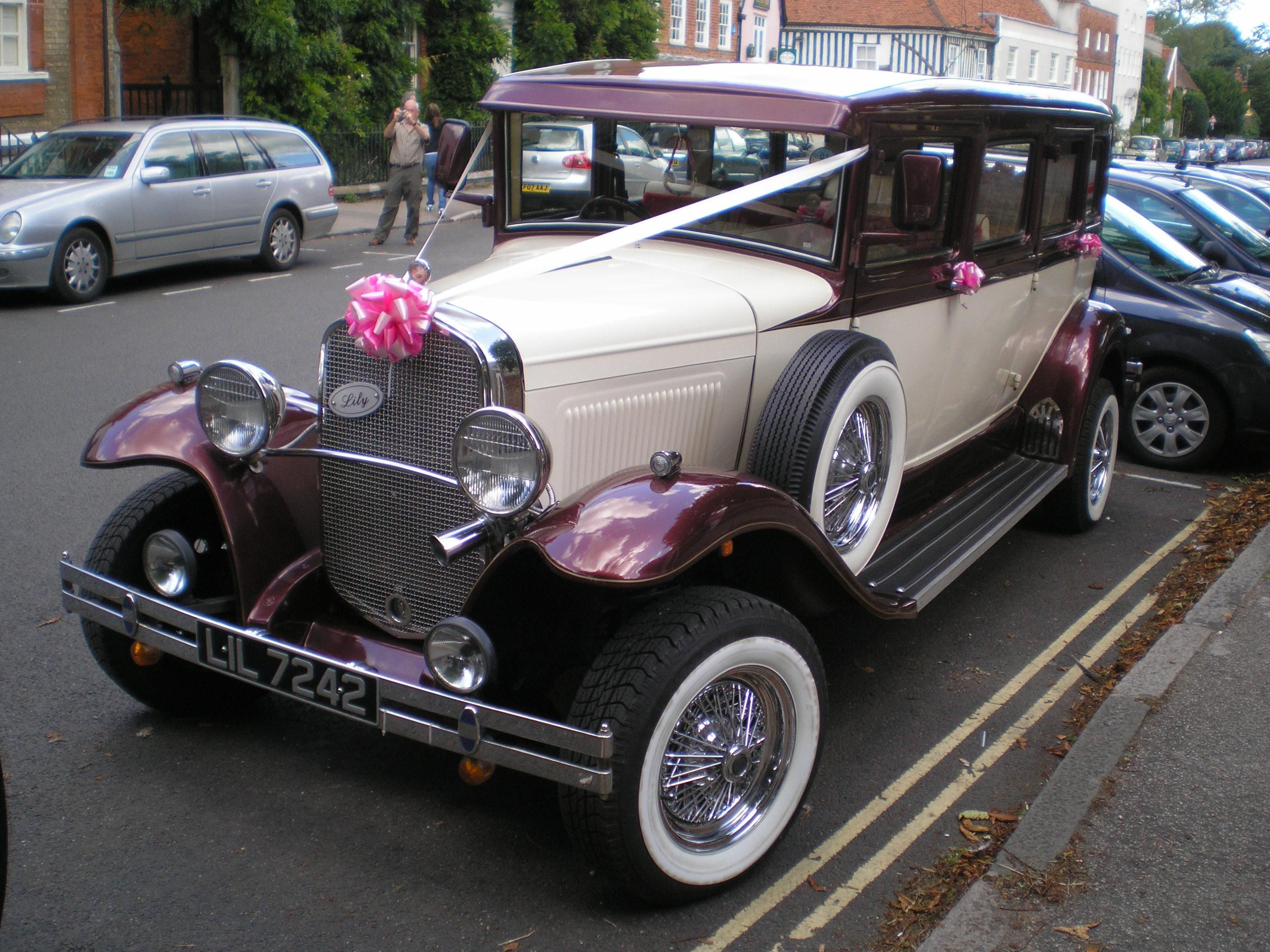 FileWedding car oldtimerjpg  Wikimedia Commons