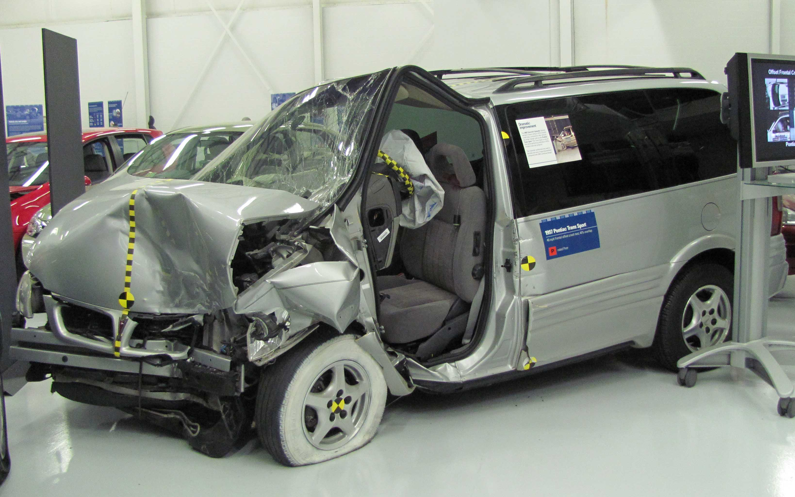 minivan crash test