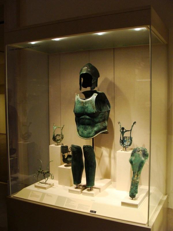 Ancient Greek Spartans Armor Museum