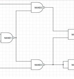 file half subtractor using nand jpg [ 1364 x 704 Pixel ]