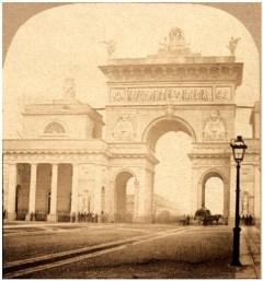 Porta Venezia - łuk triumfalny