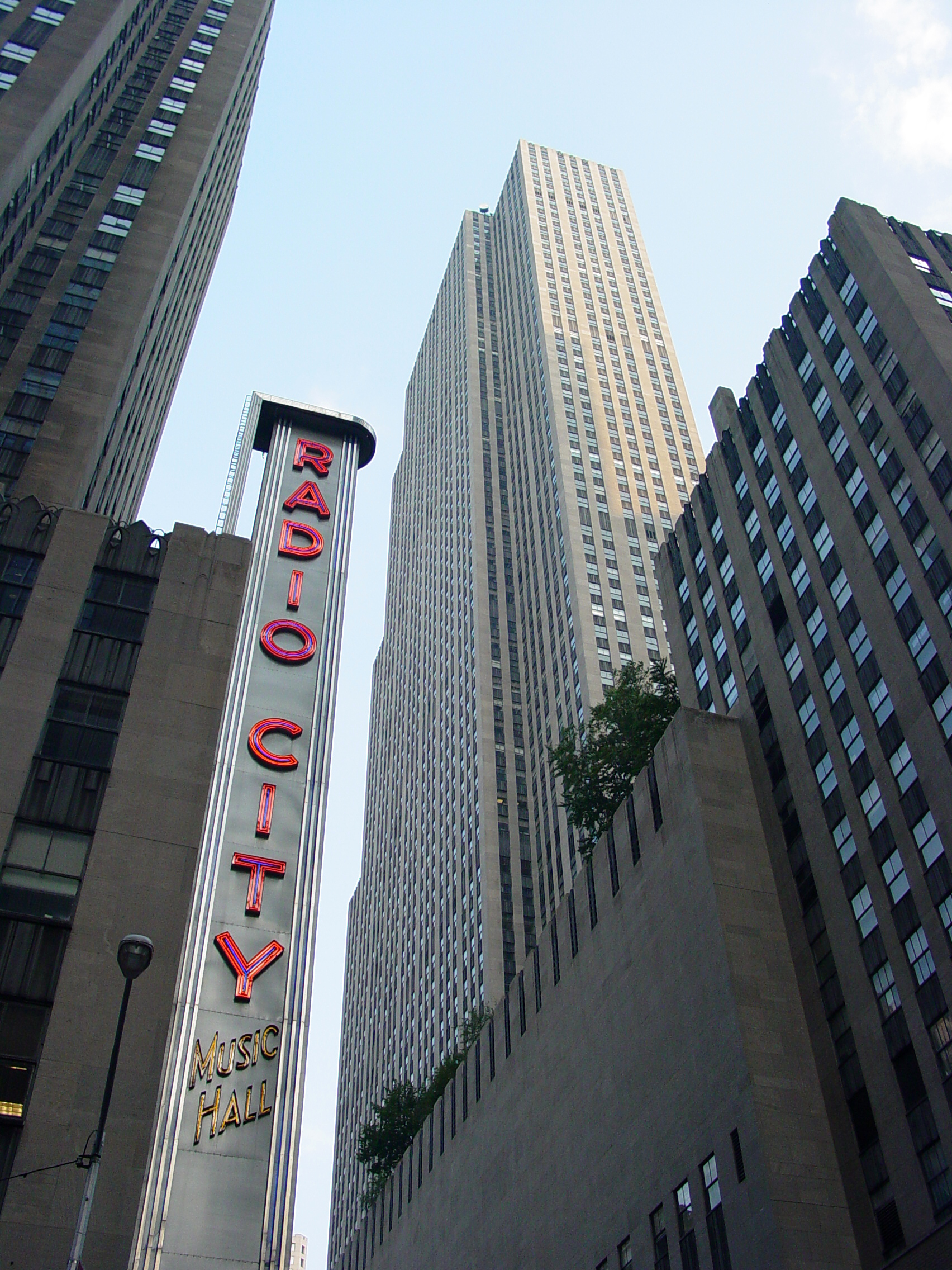 English: Radio City Music Hall in Manhattan, N...