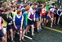 English: Start of the 'Wilson Run'