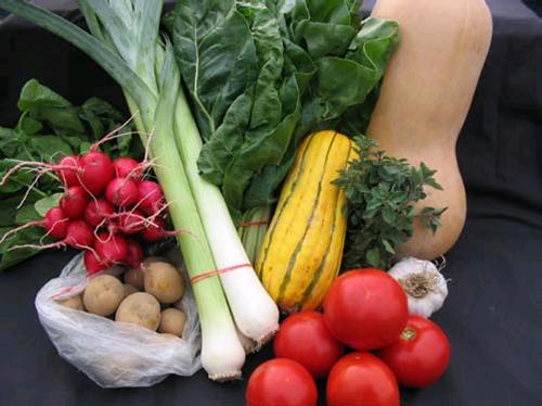 Summer Time Farmers Markets and Seasonal Produce
