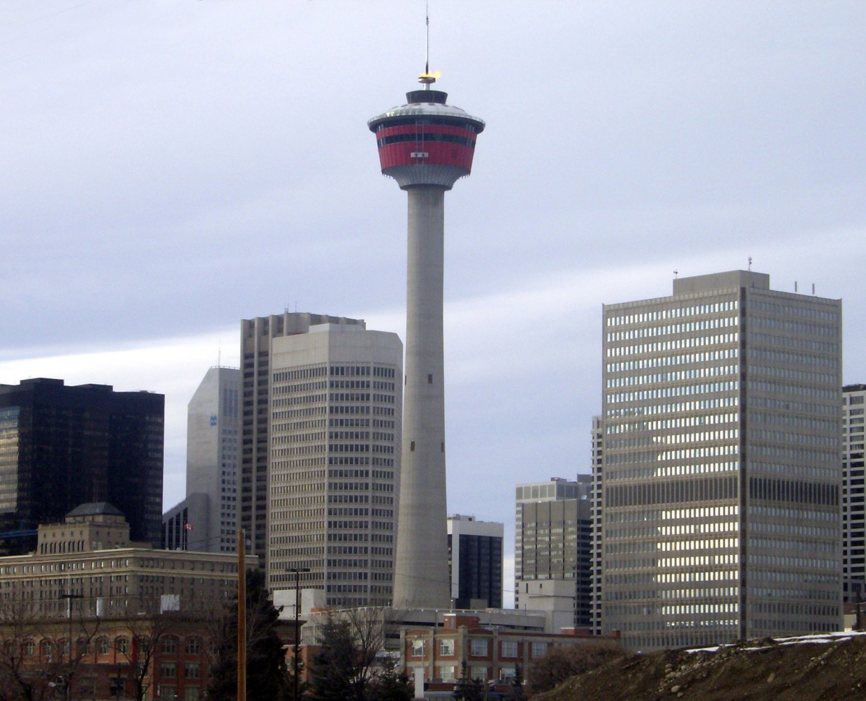Image result for Calgary Tower in Calgary, Canada