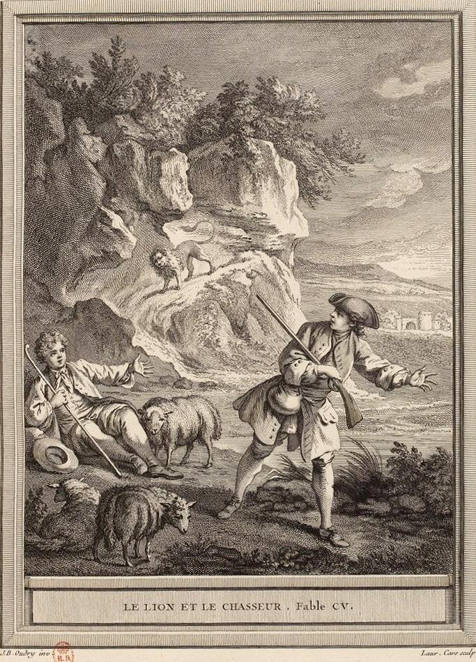 Le Lion Et Le Chasseur : chasseur, Chasseur, Wikipédia