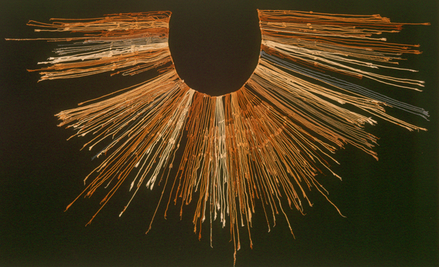 Inka Quipu for record-keeping.