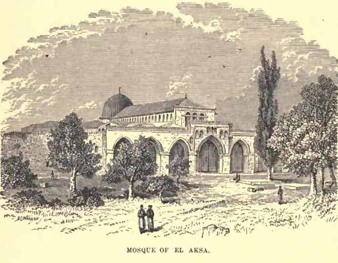 Jerusalem Al-Aqsa Mosque 1886