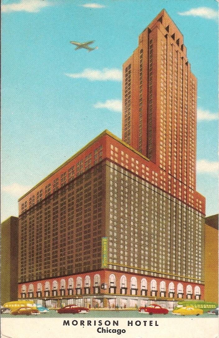 Morrison Hotel Chicago  Wikipedia