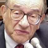 The honourable Alan Greenspan testifies before...