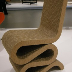 Frank Gehry Chair Contemporary Dining File Ngv Design O Wiggle Side 1972