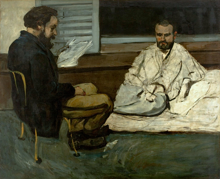 Cézanne's Paul Alexis Reading a Manuscript to Zola