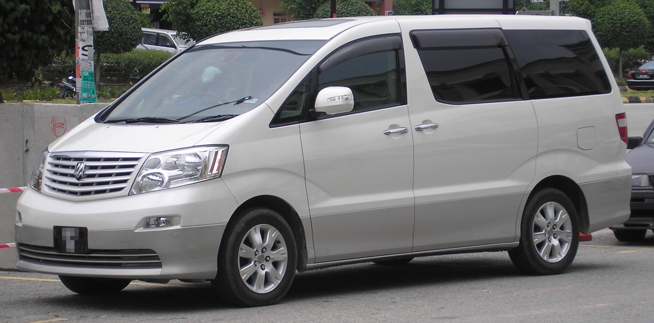 all new alphard 2017 indonesia harga bumper depan grand veloz toyota wikipedia first generation front white serdang jpg