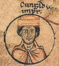 English: Conrad II, Holy Roman Emperor