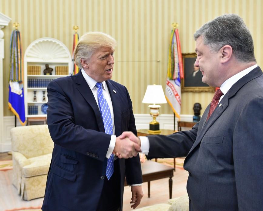Тогда, на встрече с Трампом, Порошенко сказал: