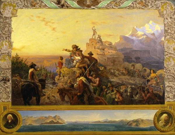 Emanuel Leutze Westward the Course of Empire