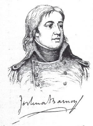 Sketch of Joshua Barney circa 1800.