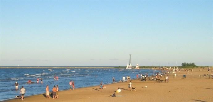 o que fazer em Chicago - Montrose Beach