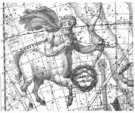 Sternbild des Schützen - Sagittarius
